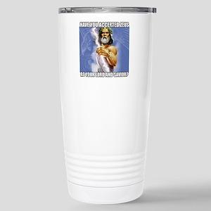 Zeus Stainless Steel Travel Mug