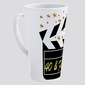 40TH MOVIE STAR 17 oz Latte Mug