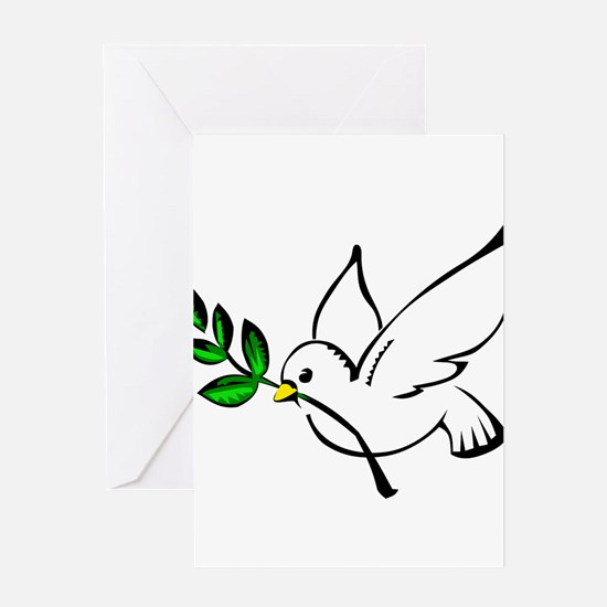 Peaceful Dove Greeting Cards