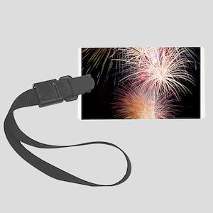 Firework Spark Luggage Tag