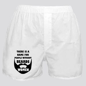 Theres a name for people without bear Boxer Shorts