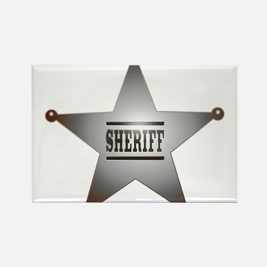 Sheriff Badge Magnets