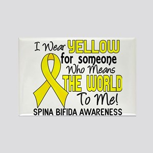 Spina Bifida MeansWorldToMe2 Rectangle Magnet