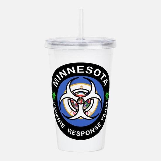 Minnesota Zombie Respo Acrylic Double-wall Tumbler