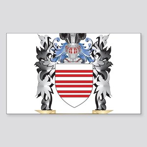 Barry Coat of Arms - Family Crest Sticker