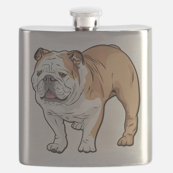 bulldog without text Flask