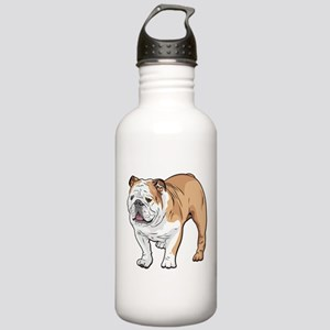 bulldog without text Stainless Water Bottle 1.0L