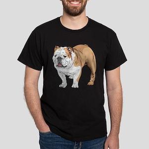 bulldog without text Dark T-Shirt