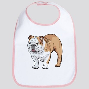 bulldog without text Bib