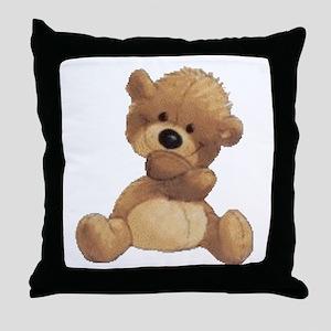 Hugs Bear Throw Pillow