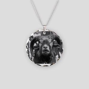 heXal GOAT Necklace Circle Charm