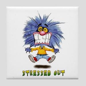 Zoink Stressed Tile Coaster