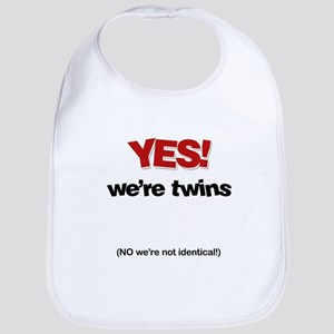 Yes We're Twins - Bib