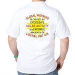 Global Warming Golf Shirt