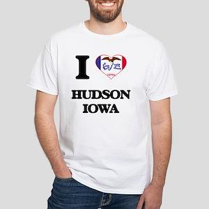 I love Hudson Iowa T-Shirt