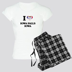 I love Iowa Falls Iowa Women's Light Pajamas