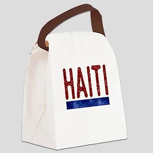 Haiti Canvas Lunch Bag