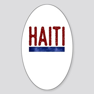 Haiti Sticker (Oval)