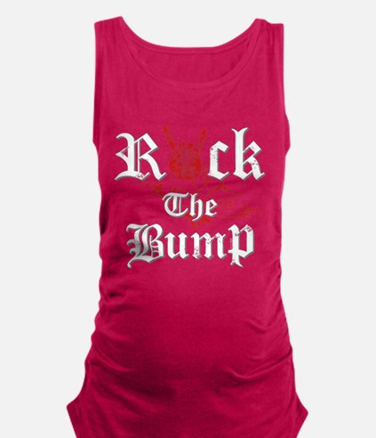 Rock The Bump Maternity Tank Top