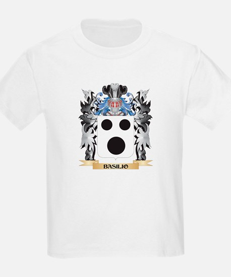 Basilio Coat of Arms - Family Crest T-Shirt