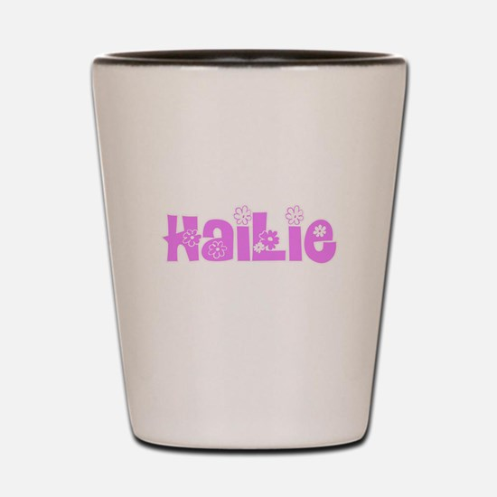 Hailie Flower Design Shot Glass