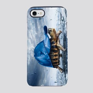 Turtle With Cap iPhone 7 Tough Case