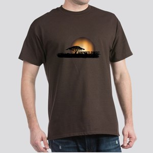 African Sunset Dark T-Shirt