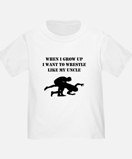 Wrestle Like My Uncle T-Shirt