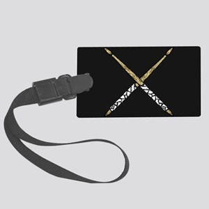 Drumsticks Large Luggage Tag