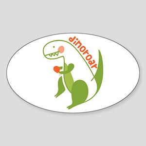T Rex Dinosaur Sticker