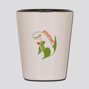 T Rex Dinosaur Shot Glass