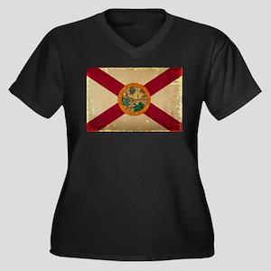 Florida State Flag VINTAGE Plus Size T-Shirt