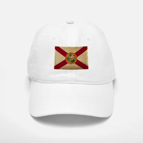 Florida State Flag VINTAGE Baseball Baseball Baseball Cap