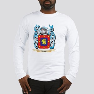 Banas Coat of Arms - Family Cr Long Sleeve T-Shirt