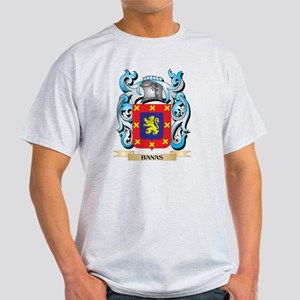 Banas Coat of Arms - Family Crest T-Shirt