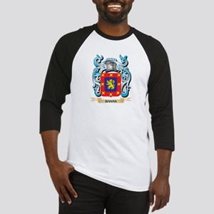 Banas Coat of Arms - Family Crest Baseball Jersey