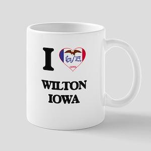 I love Wilton Iowa Mugs