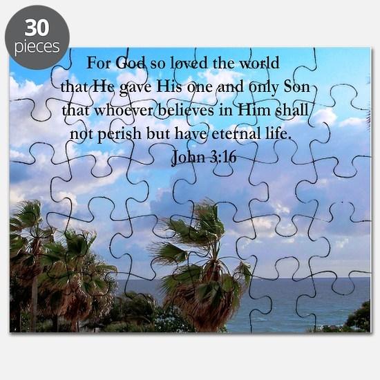 UPLIFTING JOHN 3:16 Puzzle