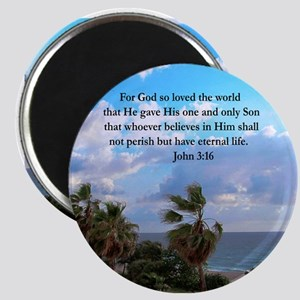 UPLIFTING JOHN 3:16 Magnet