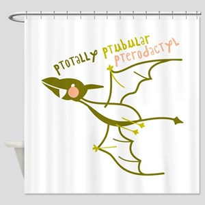 Totally Pterodactyl Shower Curtain