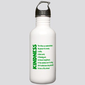 POWER OF TOUCH Stainless Water Bottle 1.0L