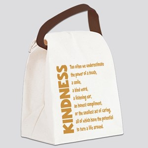 POWER OF TOUCH Canvas Lunch Bag