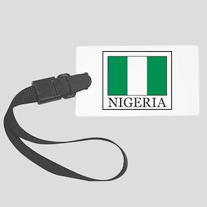 Nigeria Large Luggage Tag