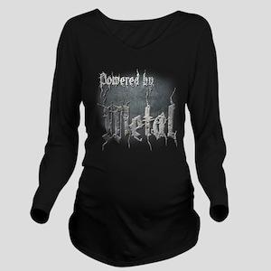 Metal 4 Long Sleeve Maternity T-Shirt