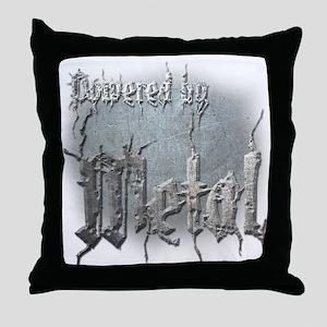 Metal 4 Throw Pillow