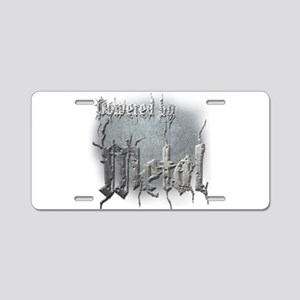 Metal 4 Aluminum License Plate