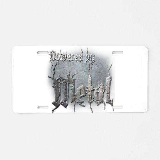 Metal 4 Aluminum License Plate