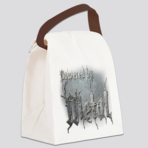 Metal 4 Canvas Lunch Bag