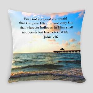 Uplifting 3:16 Everyday Pillow