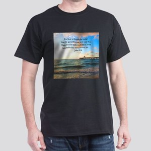 UPLIFTING JOHN 3:16 Dark T-Shirt